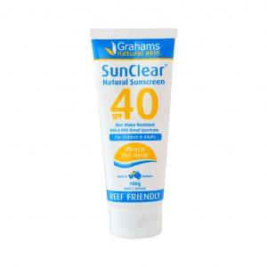 grahams sunclear sunscreen
