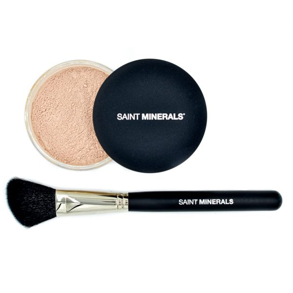 Highlighter dual brush